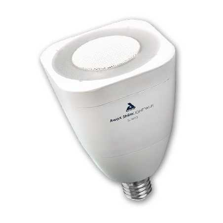 Ampoule musicale Awox WHITE WIFI