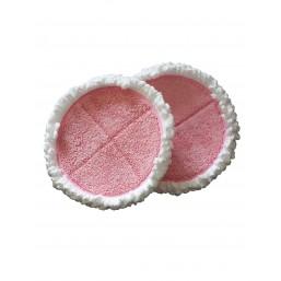 Microfibres (rose) de rechange pour Ooobot sols et sols pro